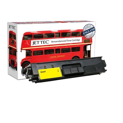 Picture of Red Bus Recycled Brother TN-326Y High Yield Yellow Toner Cartridge
