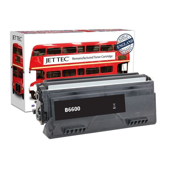 Picture of Red Bus Recycled Brother TN-6600 High Yield Black Toner Cartridge