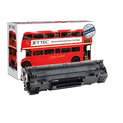 Picture of Red Bus Recycled Canon CRG-728 Black Toner Cartridge