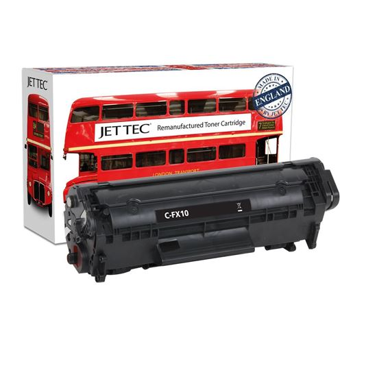 Picture of Red Bus Recycled Canon FX-10 Black Toner Cartridge