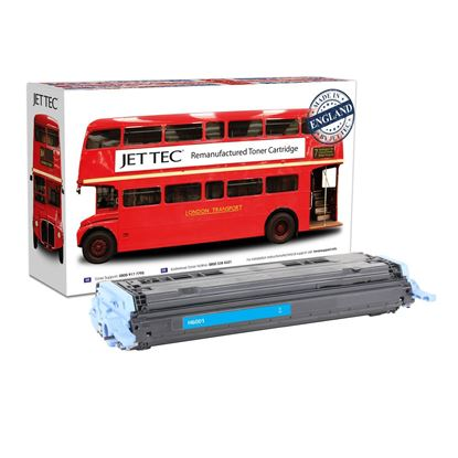 Picture of Red Bus Recycled 124A Cyan (Q6001A) Toner Cartridge (suitable for use in HP printers)
