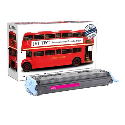 Picture of Red Bus Recycled 124A Magenta (Q6003A) Toner Cartridge (suitable for use in HP printers)