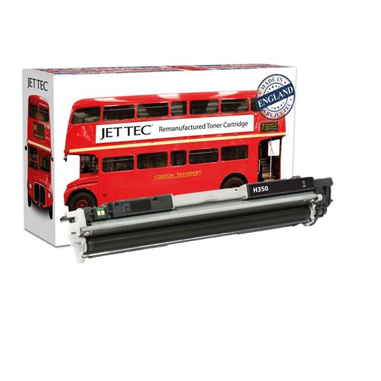 Picture of Red Bus Recycled HP 130A Black (CF350A) Toner Cartridge