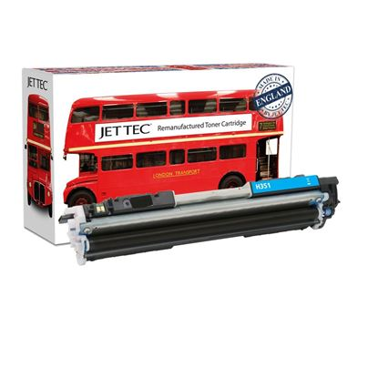 Picture of Red Bus Recycled HP 130A Cyan (CF351A) Toner Cartridge
