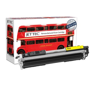 Picture of Red Bus Recycled HP 130A Yellow (CF352A) Toner Cartridge