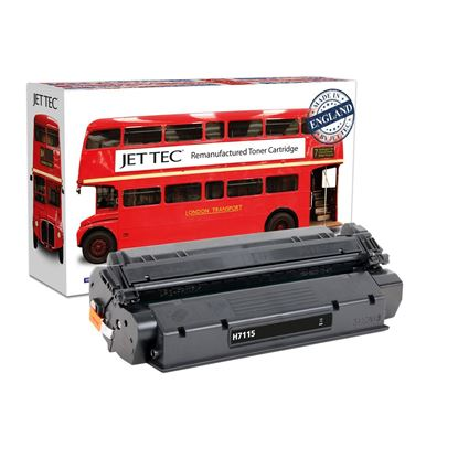 Picture of Red Bus Recycled HP 15A Black (C7115A) Toner Cartridge