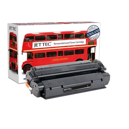 Picture of Red Bus Recycled HP 15X High Yield Black (C7115X) Toner Cartridge