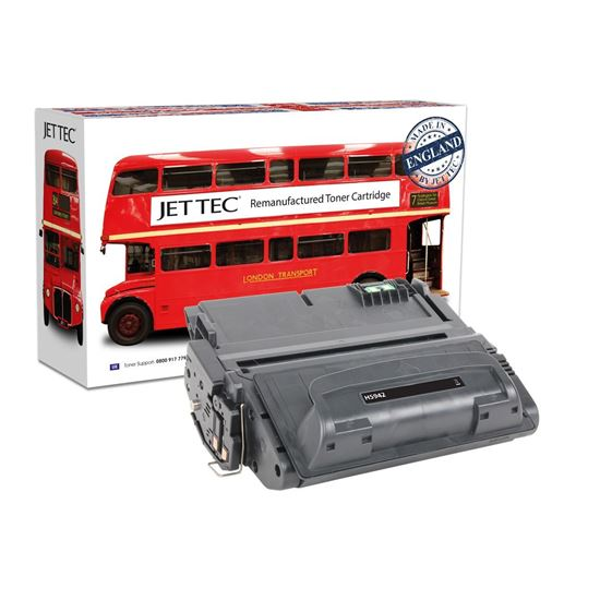 Picture of Red Bus Recycled HP 42A Black (Q5942A) Toner Cartridge