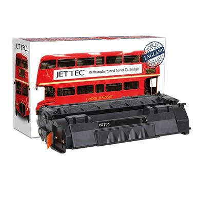 Picture of Red Bus Recycled HP 53A Black (Q7553A) Toner Cartridge