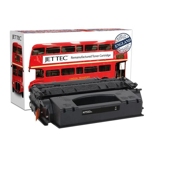 Picture of Red Bus Recycled HP 53X High Yield Black (Q7553X) Toner Cartridge