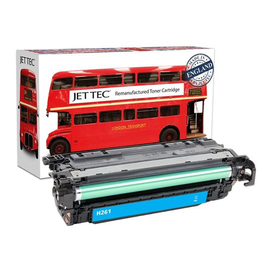 Picture of Red Bus Recycled HP 648A Cyan (CE261A) Toner Cartridge