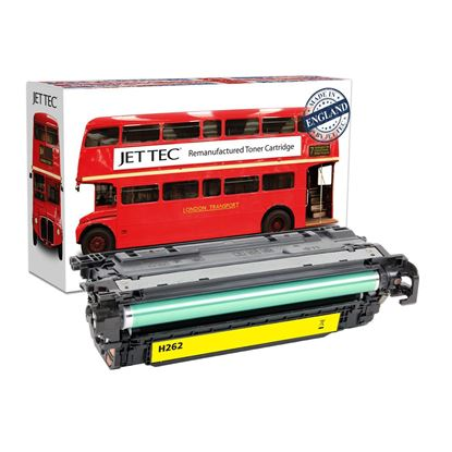 Picture of Red Bus Recycled HP 648A Yellow (CE262A) Toner Cartridge