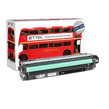 Picture of Red Bus Recycled HP 651A Black (CE340A) Toner Cartridge