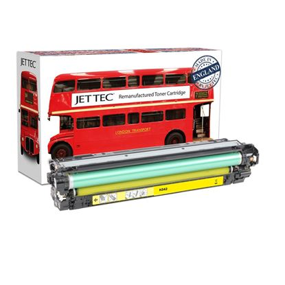 Picture of Red Bus Recycled HP 651A Yellow (CE342A) Toner Cartridge