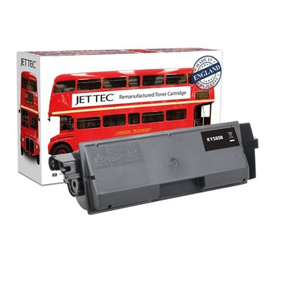 Picture of Red Bus Recycled Kyocera TK-580K Black Toner Cartridge