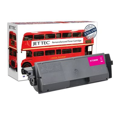 Picture of Red Bus Recycled Kyocera TK-580M Magenta Toner Cartridge