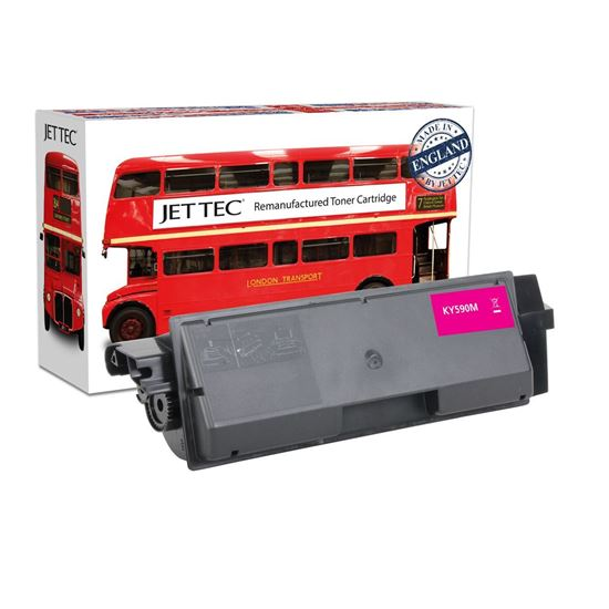 Picture of Red Bus Recycled Kyocera TK-590M Magenta Toner Cartridge