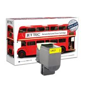 Picture of Red Bus Recycled Lexmark 80C20Y0 Yellow (802Y) Toner Cartridge