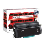 Picture of Red Bus Recycled E260A11E Black Toner Cartridge (suitable for use in Lexmark printers)