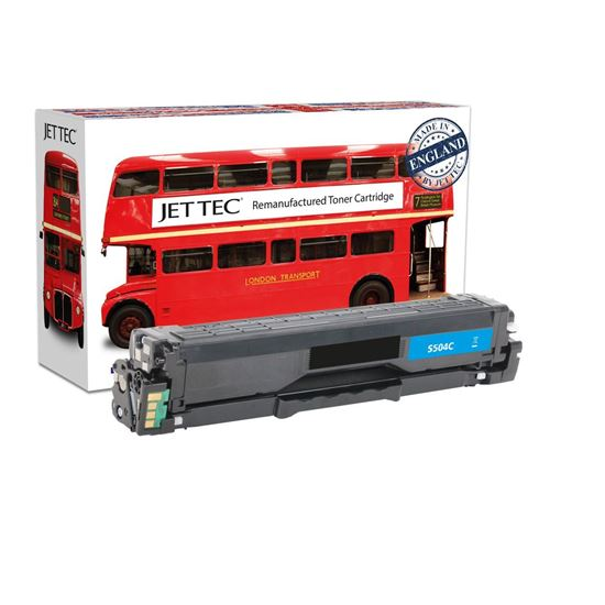 Picture of Red Bus Recycled Samsung CLT-C504S Cyan Toner Cartridge