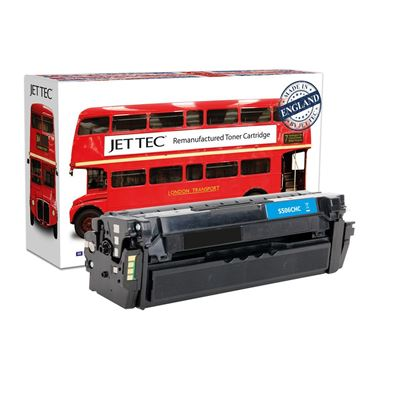 Picture of Red Bus Recycled Samsung CLT-C506L High Yield Cyan Toner Cartridge