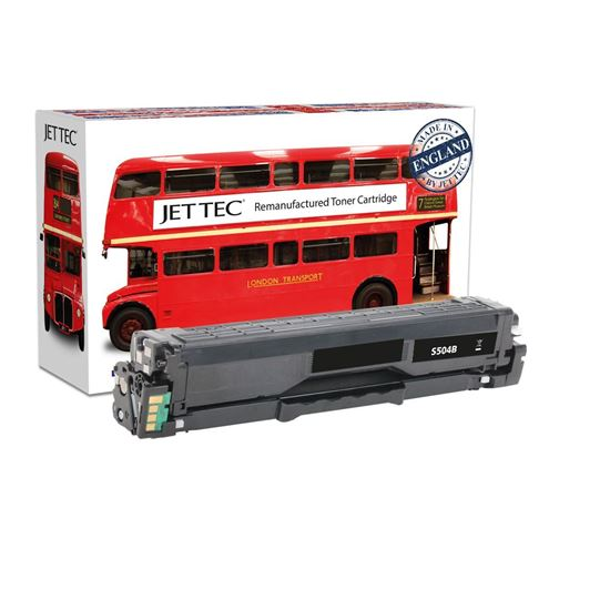 Picture of Red Bus Recycled Samsung CLT-K504S Black Toner Cartridge