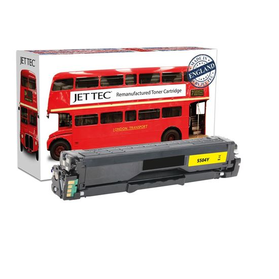 Picture of Red Bus Recycled Samsung CLT-Y504S Yellow Toner Cartridge