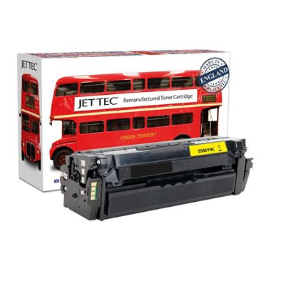 Picture of Red Bus Recycled Samsung CLT-Y506L High Yield Yellow Toner Cartridge