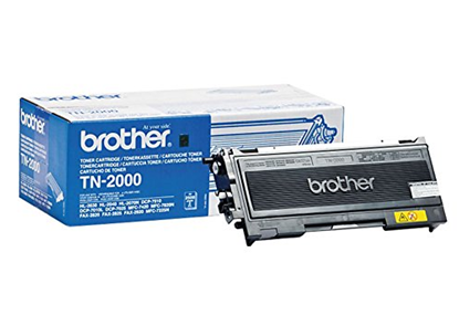 Picture of Brother TN-2000 Black Original Toner Cartridge (TN2000 Laser Toner)