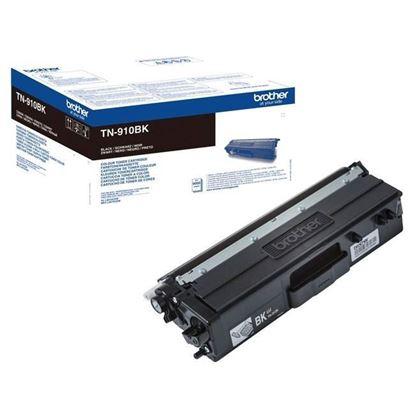 Picture of Brother TN-910BK Black Original Toner Cartridge (TN910BK Laser Toner)