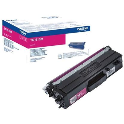 Picture of Brother TN-910M Magenta Original Toner Cartridge (TN910M Laser Toner)
