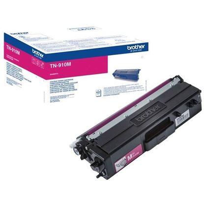 Picture of Brother TN-910M Magenta Original Toner Cartridge (TN910M Laser Toner)