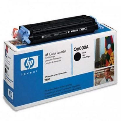 Picture of HP 124A Black Original Toner Cartridge (Q6000A Laser Toner)