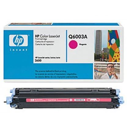 Picture of HP 124A Magenta Original Toner Cartridge (Q6003A Laser Toner)