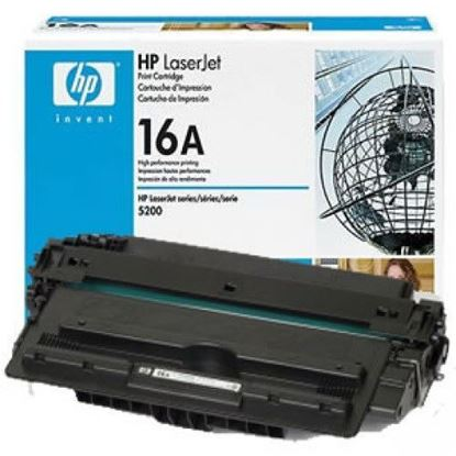 Picture of HP 16A Black Original Toner Cartridge (Q7516A Laser Toner)