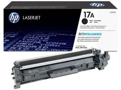Picture of HP 17A Black Original Toner Cartridge (CF217A Laser Toner)