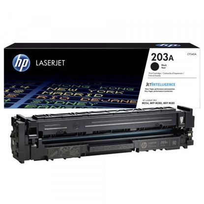 Picture of HP 203A Black Original Toner Cartridge (CF540A Laser Toner)