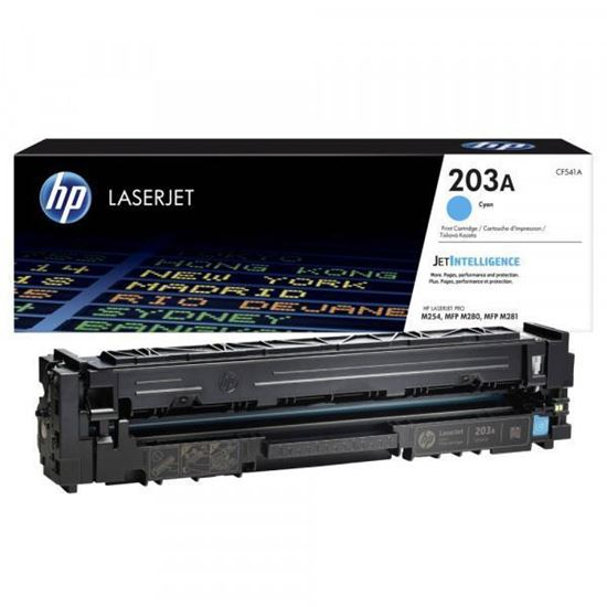 Picture of HP 203A Cyan Original Toner Cartridge (CF541A Laser Toner)