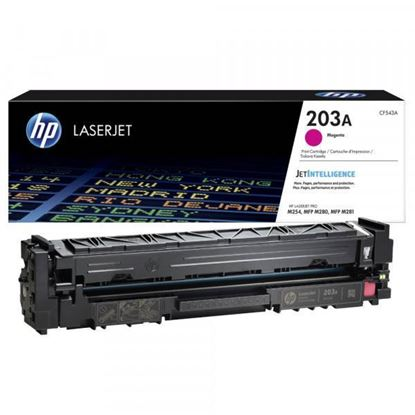 Picture of HP 203A Magenta Original Toner Cartridge (CF543A Laser Toner)