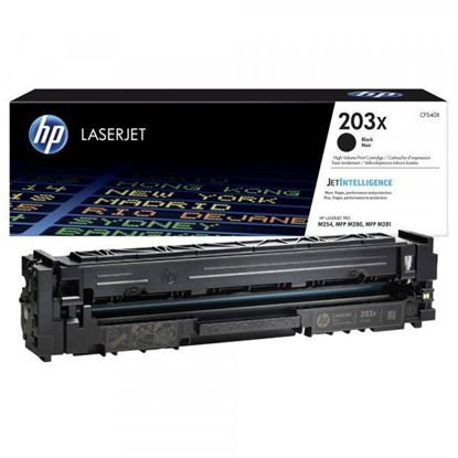 Picture of HP 203X High Yield Black Original Toner Cartridge (CF540X Laser Toner)