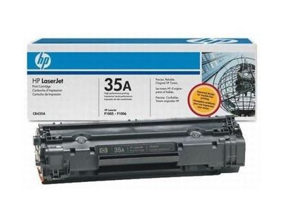 Picture of HP 35A Black Original Toner Cartridge (CB435A Laser Toner)