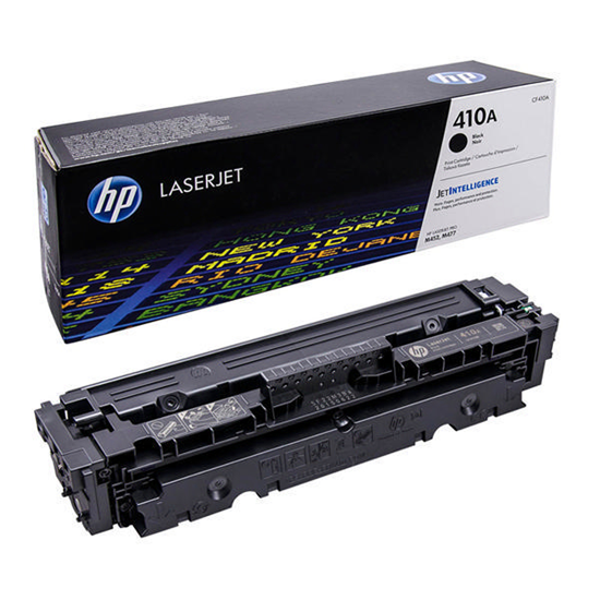 Picture of HP 410A Black Original Toner Cartridge (CF410A Laser Toner)