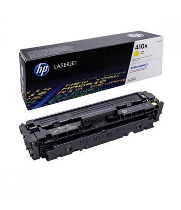 Picture of HP 410A Yellow Original Toner Cartridge (CF412A Laser Toner)