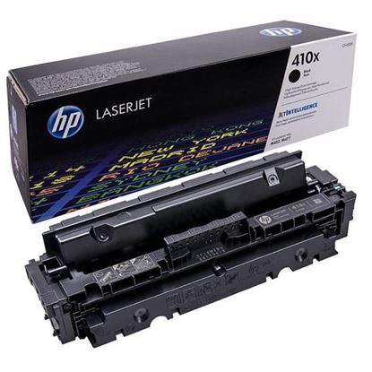 Picture of HP 410X High Yield Black Original Toner Cartridge (CF410X Laser Toner)
