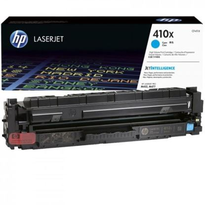Picture of HP 410X High Yield Cyan Original Toner Cartridge (CF411X Laser Toner)