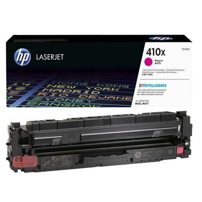 Picture of HP 410X High Yield Magenta Original Toner Cartridge (CF413X Laser Toner)