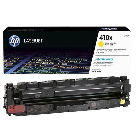 Picture of HP 410X High Yield Yellow Original Toner Cartridge (CF412X Laser Toner)