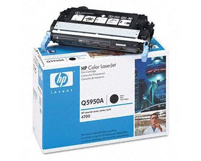 Picture of HP 643A Black Original Toner Cartridge (Q5950A Laser Toner)