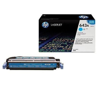 Picture of HP 643A Cyan Original Toner Cartridge (Q5951A Laser Toner)