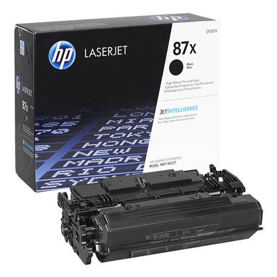 Picture of HP 87X High Yield Black Original Toner Cartridge (CF287X Laser Toner)